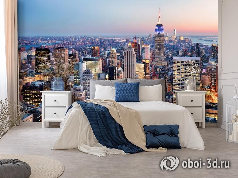 3D Фотообои  «Нью-Йорк: небоскребы»  вид 8