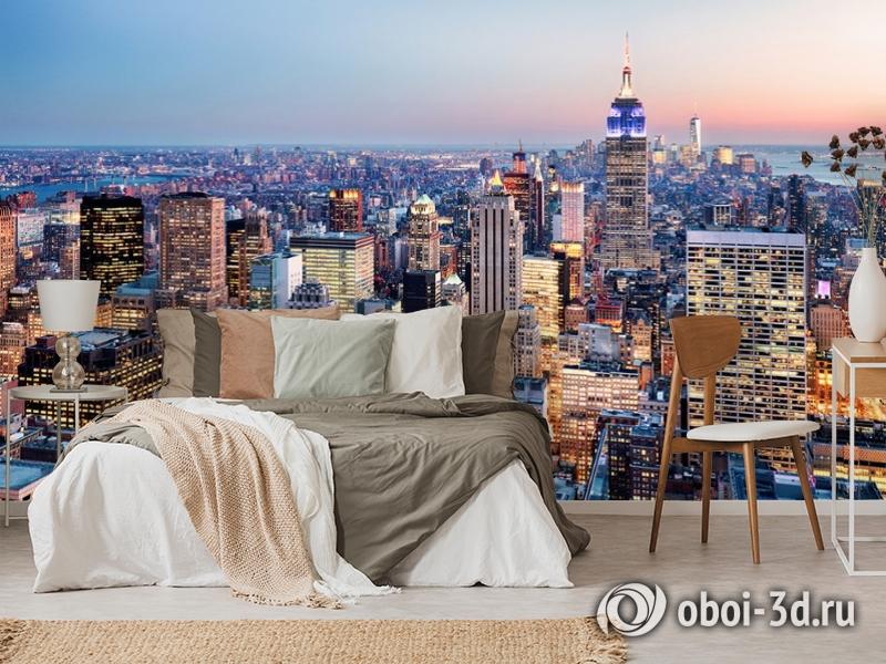 3D Фотообои  «Нью-Йорк: небоскребы»  вид 6
