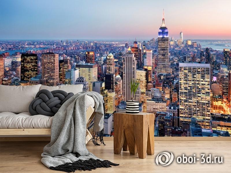 3D Фотообои  «Нью-Йорк: небоскребы»  вид 5