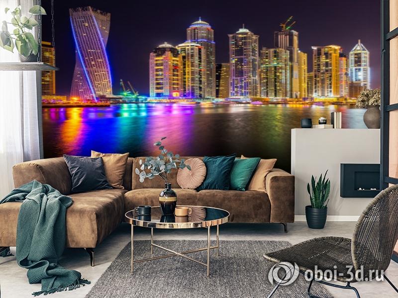 3D Фотообои  «Огни Дубая»  вид 7