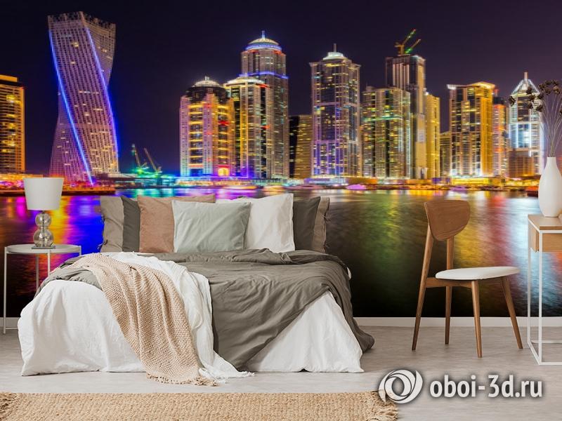 3D Фотообои  «Огни Дубая»  вид 6