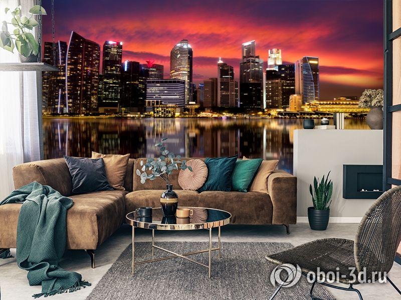 3D Фотообои  «Мегаполис.Город»  вид 7