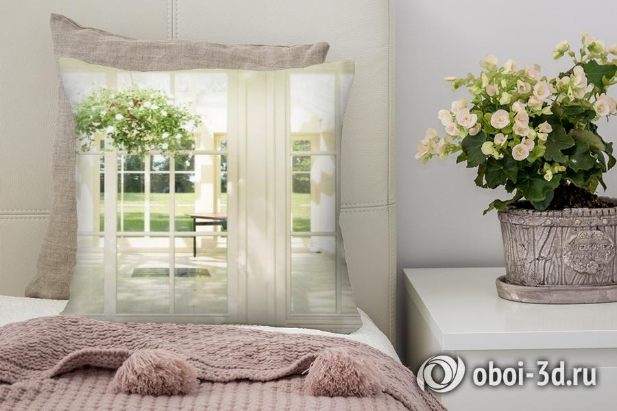 3D Подушка «Светлая веранда» вид 5