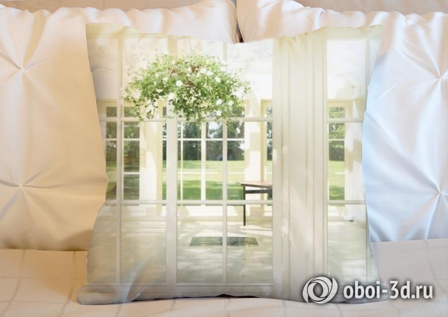 3D Подушка «Светлая веранда» вид 2