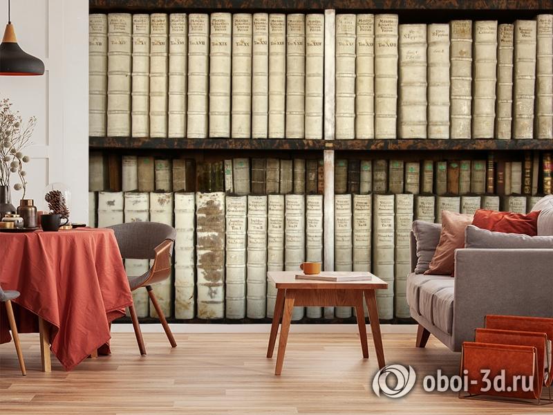 3D Фотообои «Библиотека» вид 4