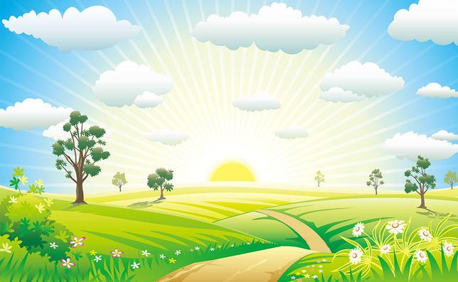 3D Фотообои 3D Фотообои «Солнечный рассвет»