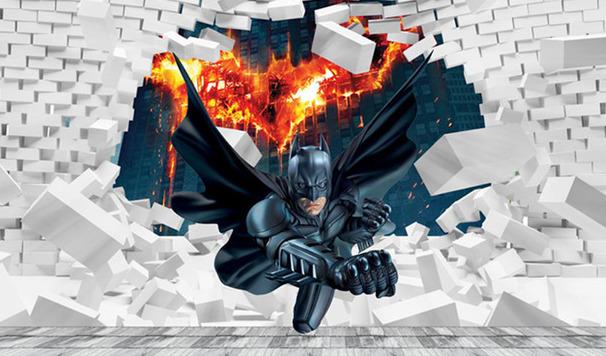 3D Фотообои 3D Фотообои «Бэтмен»