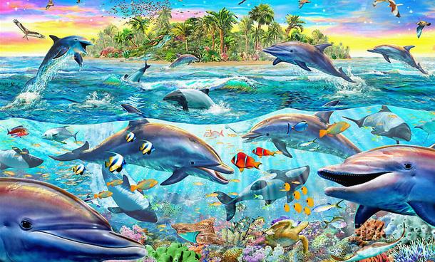 3D Фотообои 3D Фотообои «Далекий остров»