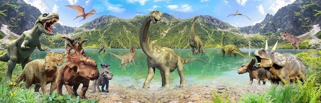 3D Фотообои 3D Фотообои «Динозавры»