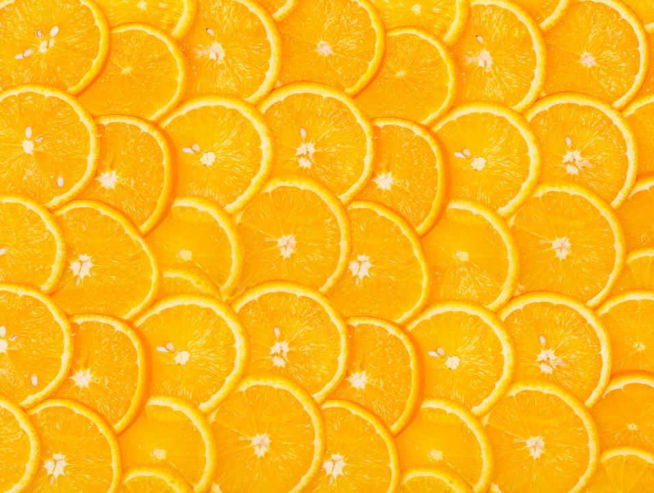 3D Фотообои 3D Фотообои  «Дольки апельсина»