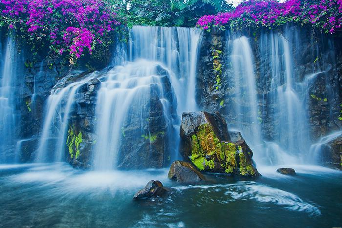 3D Фотообои 3D Фотообои  «Горный водопад»