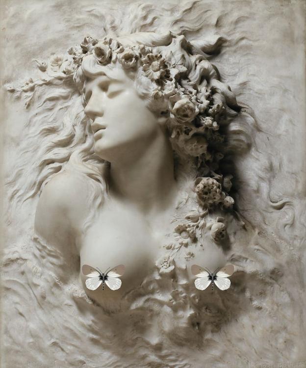 3D Фотообои 3D Фотообои «Греческая дева»