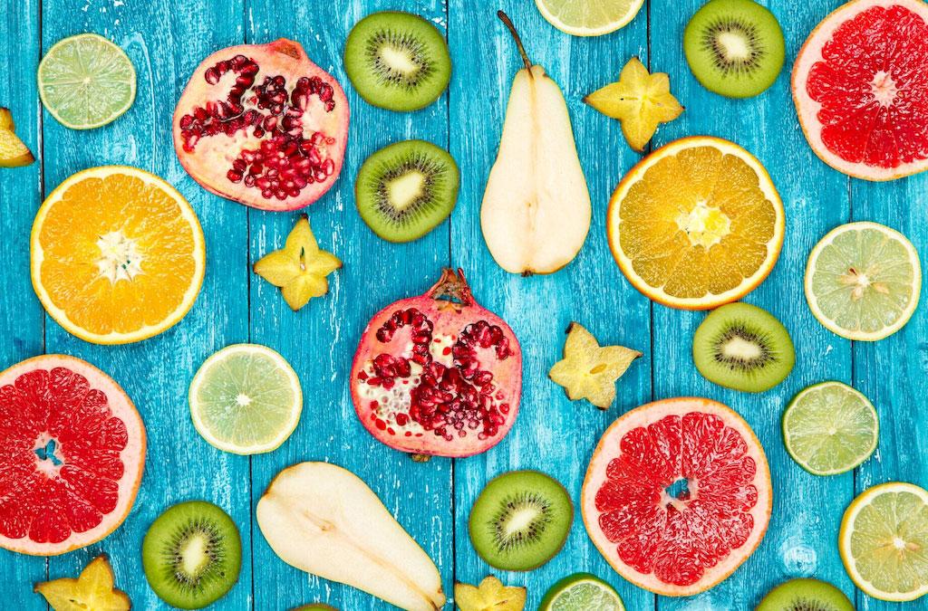 3D Фотообои 3D Фотообои  «Сочные фрукты»