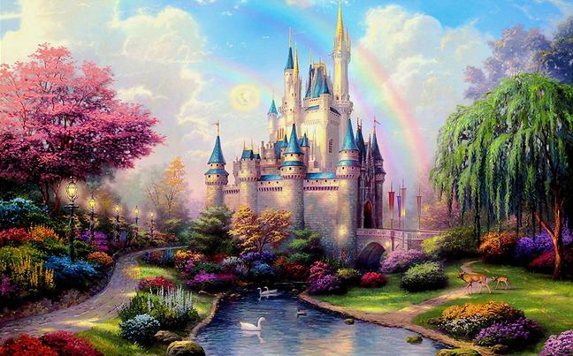 3D Фотообои 3D Фотообои «Замок для детской»