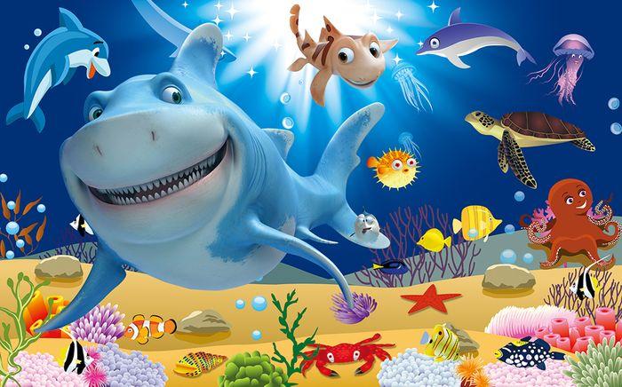 3D Фотообои 3D Фотообои «Морская бригада»