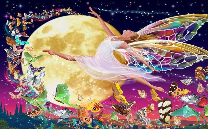 3D Фотообои 3D Фотообои «Танцующая фея»