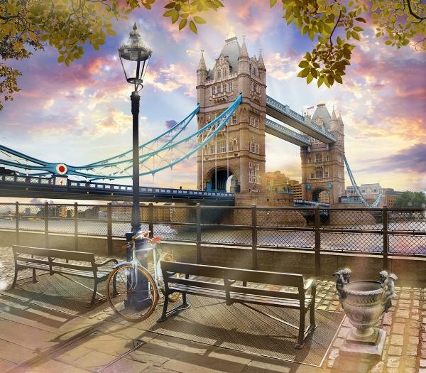 3D Фотообои 3D Фотообои «Тауэрский мост»
