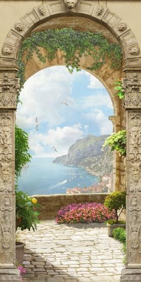 3D Фотообои 3D Фотообои «Двойная арка»
