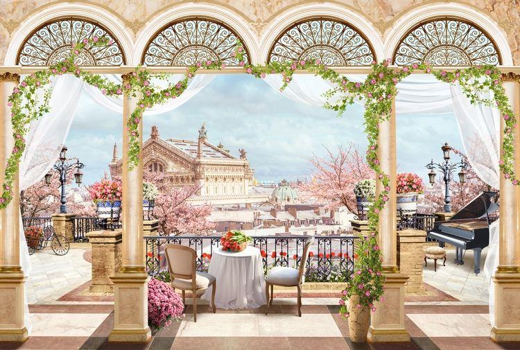 3D Фотообои 3D Фотообои «Королевская терраса»