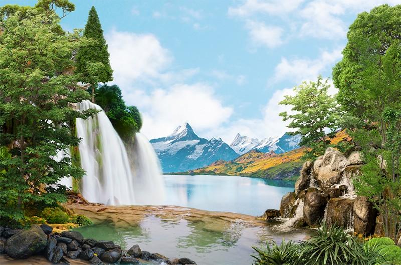 3D Фотообои 3D Фотообои «Девственная природа»
