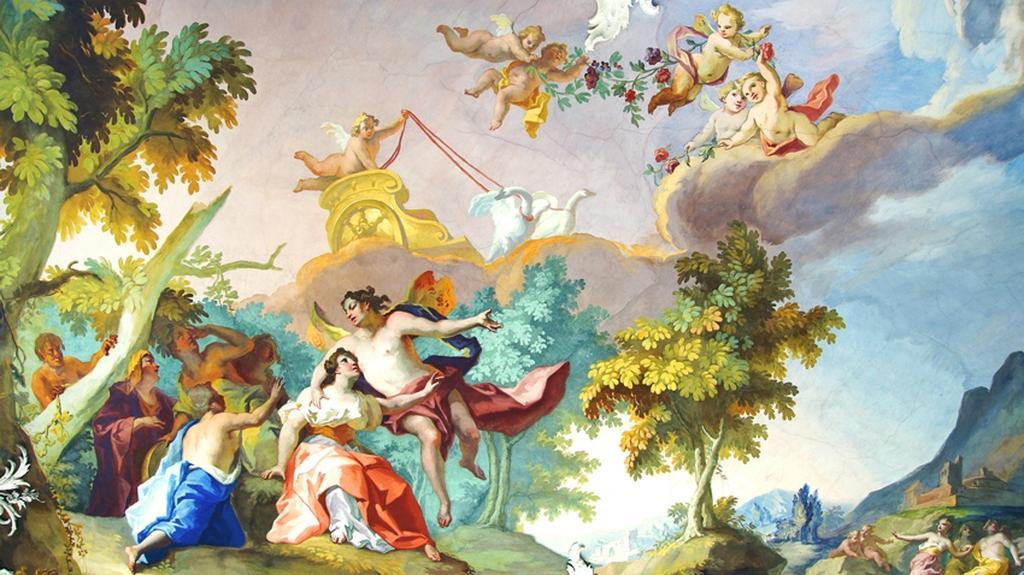 3D Фотообои 3D Фотообои  «Ангелы в небе»