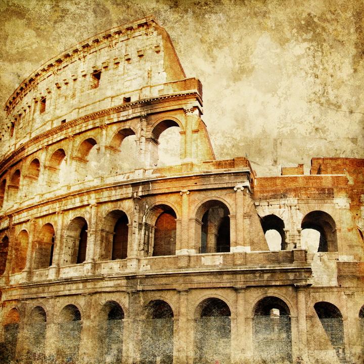 3D Фотообои 3D Фотообои  «Фреска Колизей»