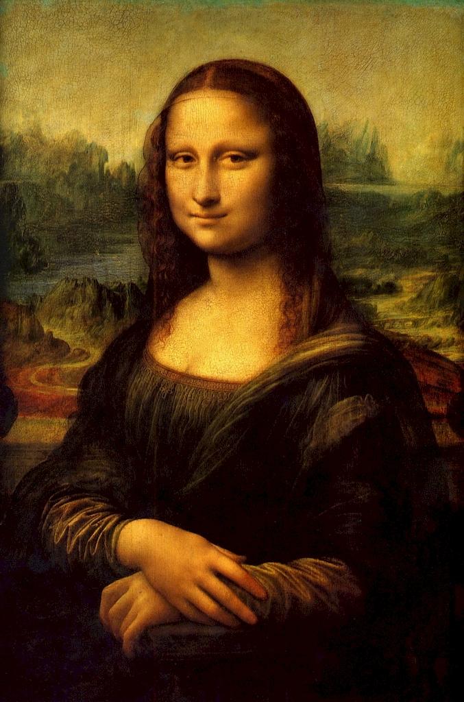3D Фотообои «Джоконда Леонардо да Винчи»