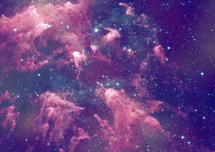3D Фотообои «Бескрайний космос»