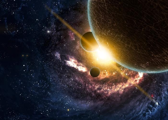3D Фотообои 3D Фотообои «Новая галактика»
