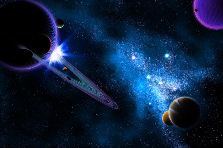 3D Фотообои 3D Фотообои  «Рассвет на Юпитере»