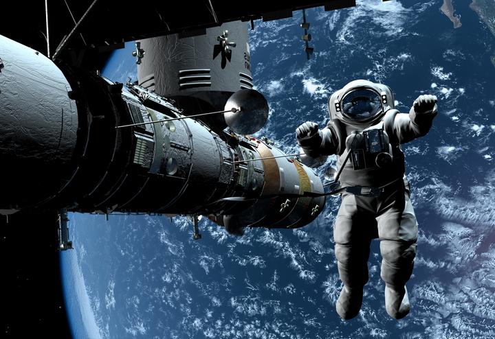3D Фотообои 3D Фотообои  «Космонавт»