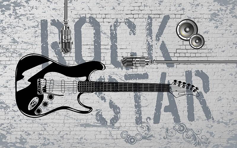 3D Фотообои 3D Фотообои «ROCK STAR»