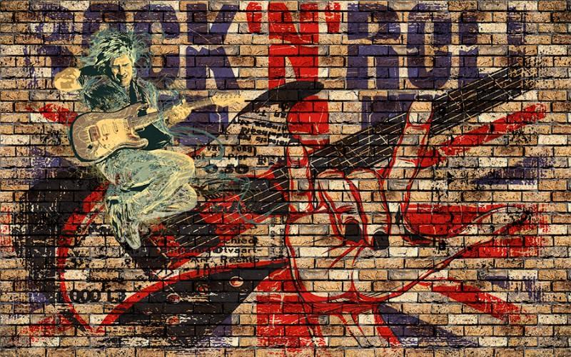 3D Фотообои 3D Фотообои «Rock N Roll»