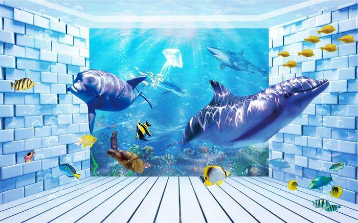 3D Фотообои 3D Фотообои «Подводная комната»