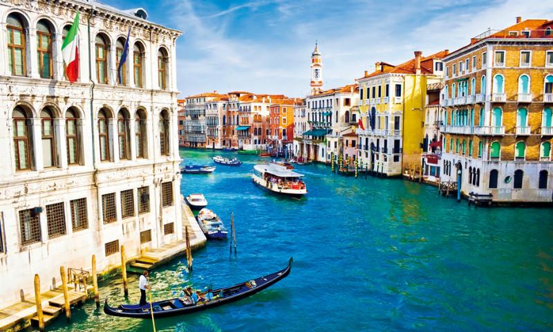 """3D Фотообои 3D Фотообои  """"Венеция: канал Ла-Джудекка"""""""