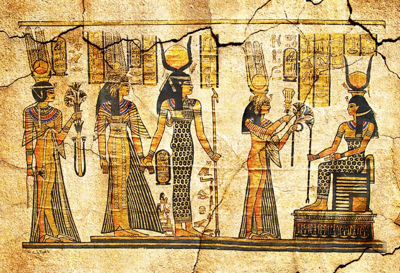 """3D Фотообои 3D Фотообои  """"В Египетском стиле"""""""