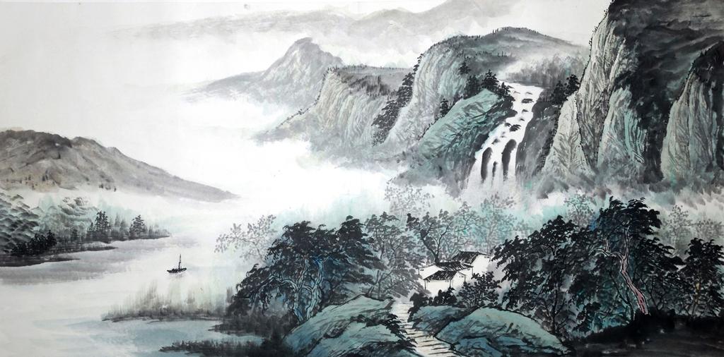 3D Фотообои 3D Фотообои  «Японские мотивы: Горы»
