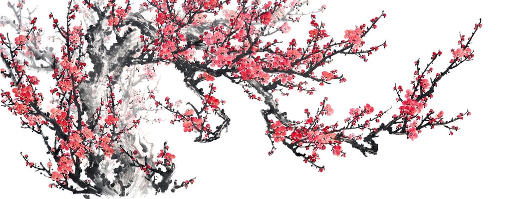 3D Фотообои 3D Фотообои  «Япония: Сакура»