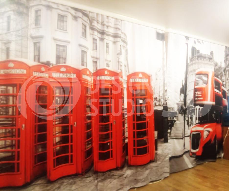Фотошторы «Телефонные будки»